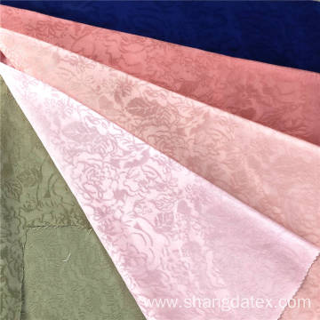 Rayon And Polyester Jacquard Plain Dyed