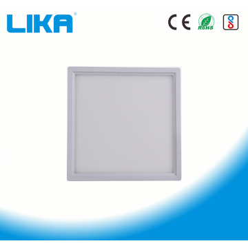 8W Rimless Square Surface Led Panel Light سوار شده است