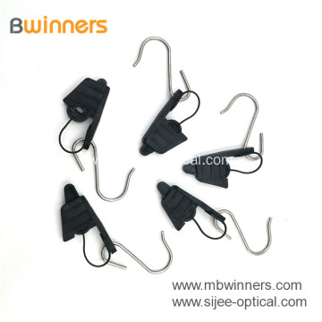 Tension Clamp FTTH Cable Fish Anchoring Suspension Drop Wire Clamp