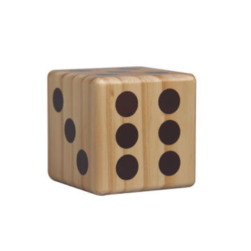 Toys Wooden Yard Dice