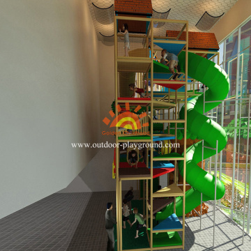 Large Slide Play Structures For Kids