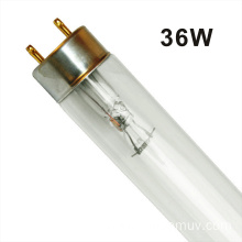 Quartz tube UV lamp