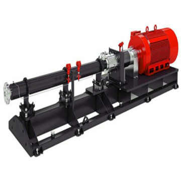 Vertical single screw rotor pump