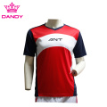 Red mens soccer shirts