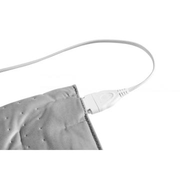 "UL Approved Moist Regular Size Heating Pad Light Grey 12""X15"" For Cramps"