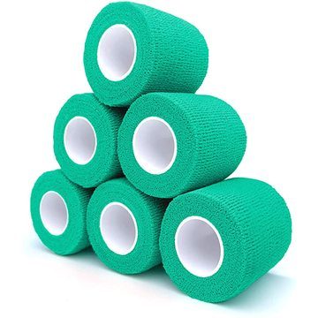 Cohesive self-adhesive elastic bandage for pet emergency