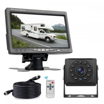 lcd digital reversing backup camera monitor for truck