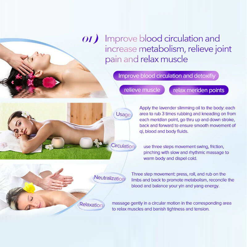 No Pills No Diet ! Weight Loss 100% Strong Effect Camellia Essential oil Belly Body 20 Days Slimming Easy HXJY-20