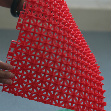 modular pp interlocking sports portable flooring