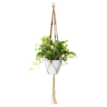 simple plant hanger macrame