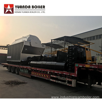 DZH Coal Fired Industrial Horizontal Steam Boiler
