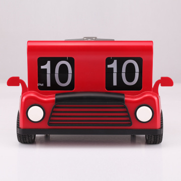 Truck Flip Clock for Decor