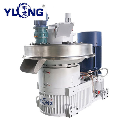 YULONG XGJ560 corn stalk pellet granulator machine