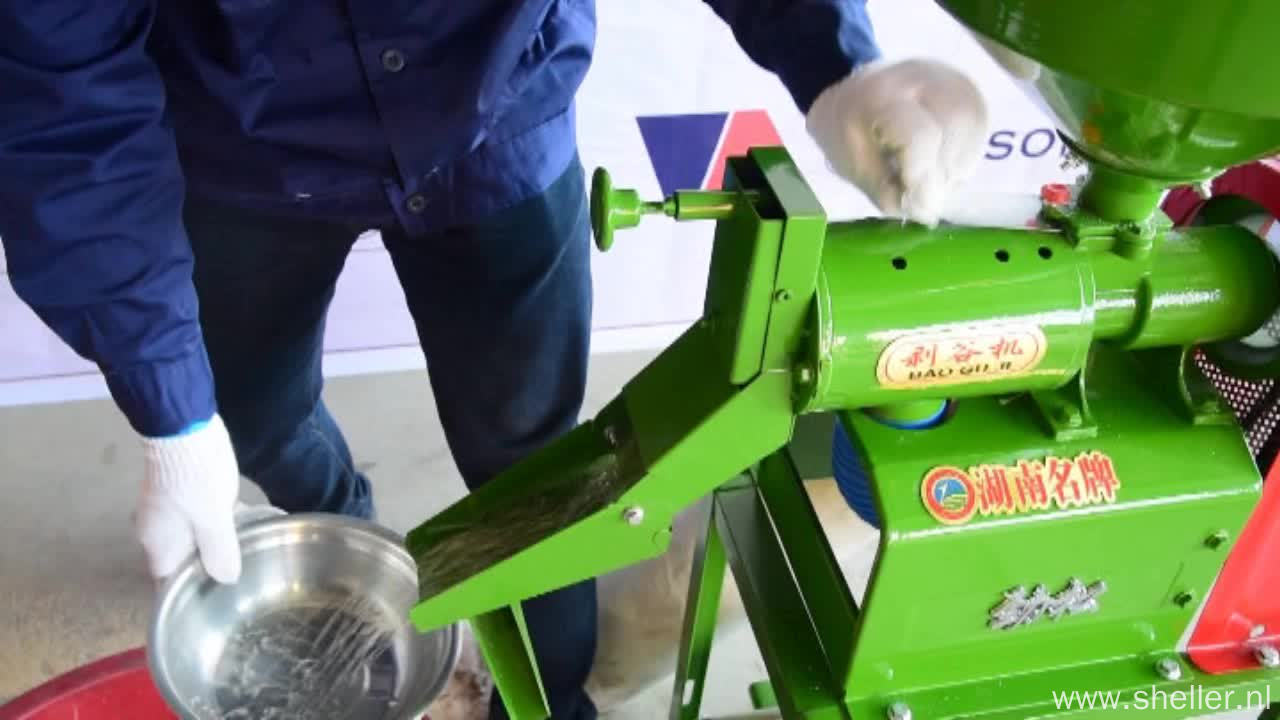 Easy Use and Small Size Rice Mill Machinery Price