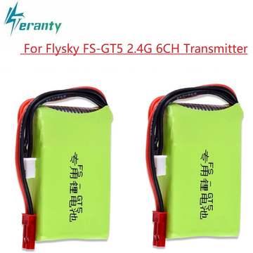 7.4V 1500mAh lipo Battery for Flysky FS-GT5 Transmitter RC Models Parts Toys accessories 7.4v Rechargeable Battery for MC6C/MCE7