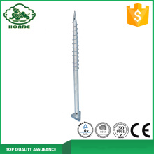 Hot-dip Galvanized Q235 Triangle Type Ground Screw