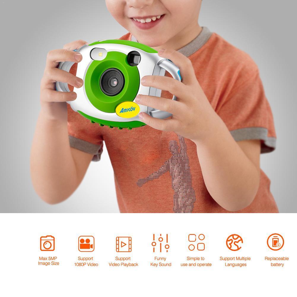 Mini HD Kids Camera Self-Portrait Mirror Design Innovative Camera For Children Kids Accessories