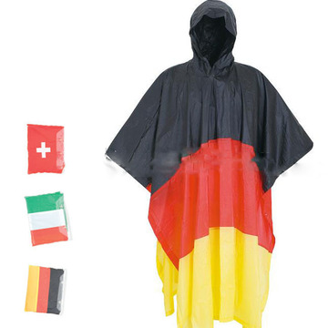 Hot Selling Top-quality Flap PVC rain poncho