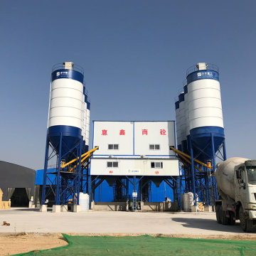 HZS90 90m3/h hzs series ready mix concrete plant