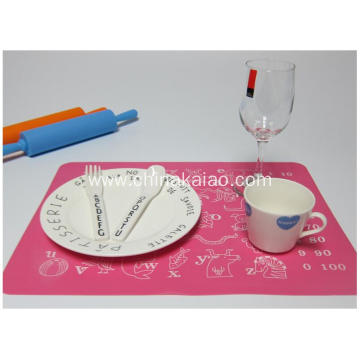 Colorful Silicone Children Dining Mats