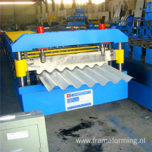 corrugated metal machine