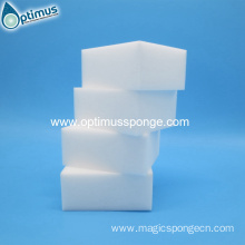 one dollar shop hot sales Amazon American white sponge with opp bag magic cleaning sponges