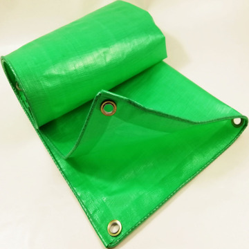 Durable High Quality Green Tarpaulin