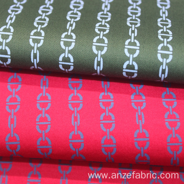 100% Cotton Sateen Printed Fabric
