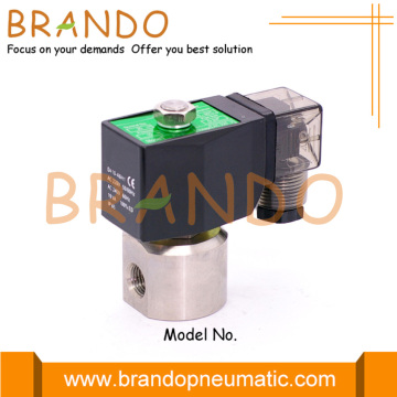12V 1/4'' High Pressure Stainless Steel Solenoid Valve
