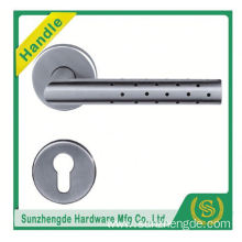 SZD STH-123 Satin Chrome Stainless Steel Curva Design Lever Door Handle Sets Pst03s