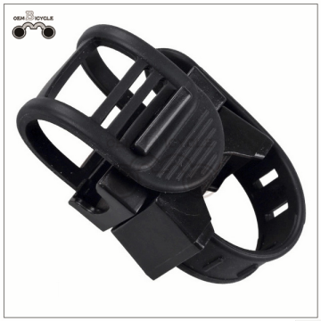 Hot sale 360-degree rotating bicycle lamp holder bike lamp clip