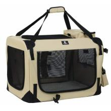 3-Door Folding Soft Dog Crate
