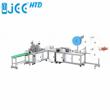 1+1 Fully automatic Disposable face mask making machine