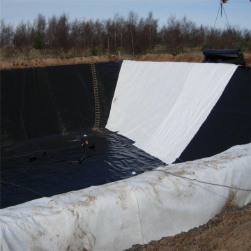 0.5mm black HDPE polyethylene liner Plastic Geomembrane
