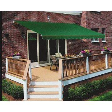 Retractable arms awning 2.0*1.2M Green