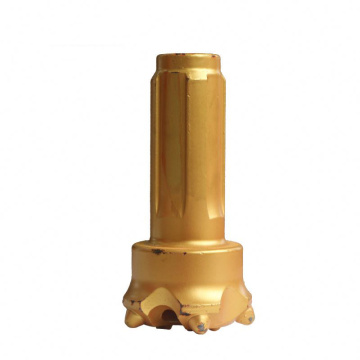 Low pressure drilling button bits for DTH impactor