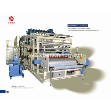 Five Layers PE Stretch Film Extruder Machine