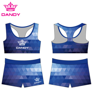 Sublimated Ombre Cheer Athletics Seragam
