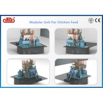 MODULAR UNIT FOR CHICKEN FEED