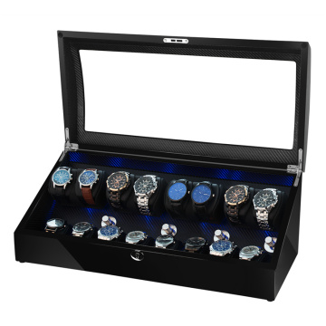 drawer watch winder with lock
