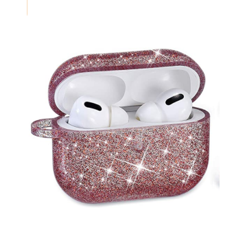 Fancy Bling Glitter Airpods Case Cover Silicone Skin