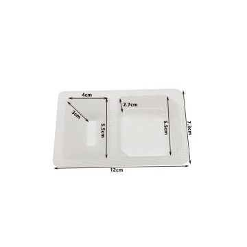 Sauce Jam PP Cavity Clear Plastic Trays
