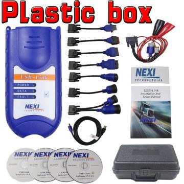 USB Bluetooth Diesel Truck Diagnostic Tool Truck OBD Fault Diagnostics Detector for NEXIQ 2 USB Link Truck Diagnostic Scanner
