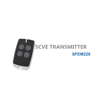 Transmitter Four Button for Motor SFEM228
