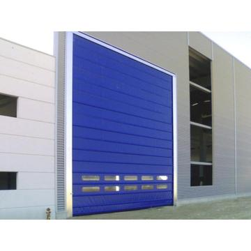 Stacking up high speed roller shutter door