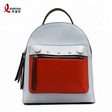 Anti Theft Sling Bags Pretty Vegan Leather Backpacks