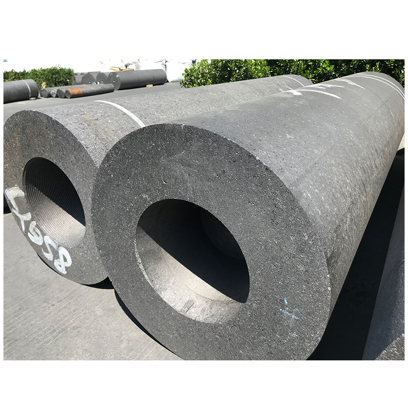 High Carbon UHP HP SHP Graphite Electrode 350mm