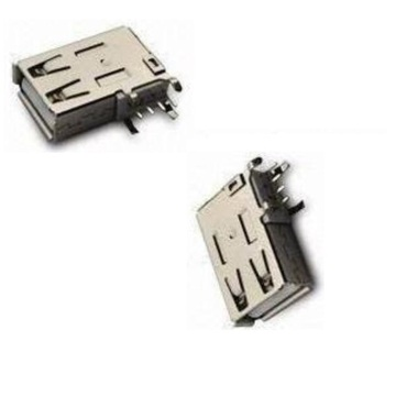 USB A Type Receptacle Angle Upright DIP