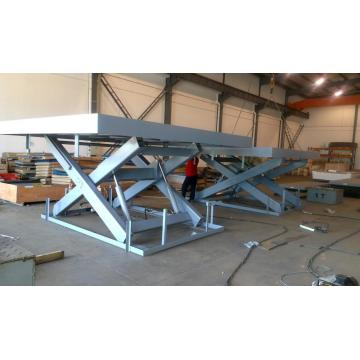 Equipment lifts table hydraulic