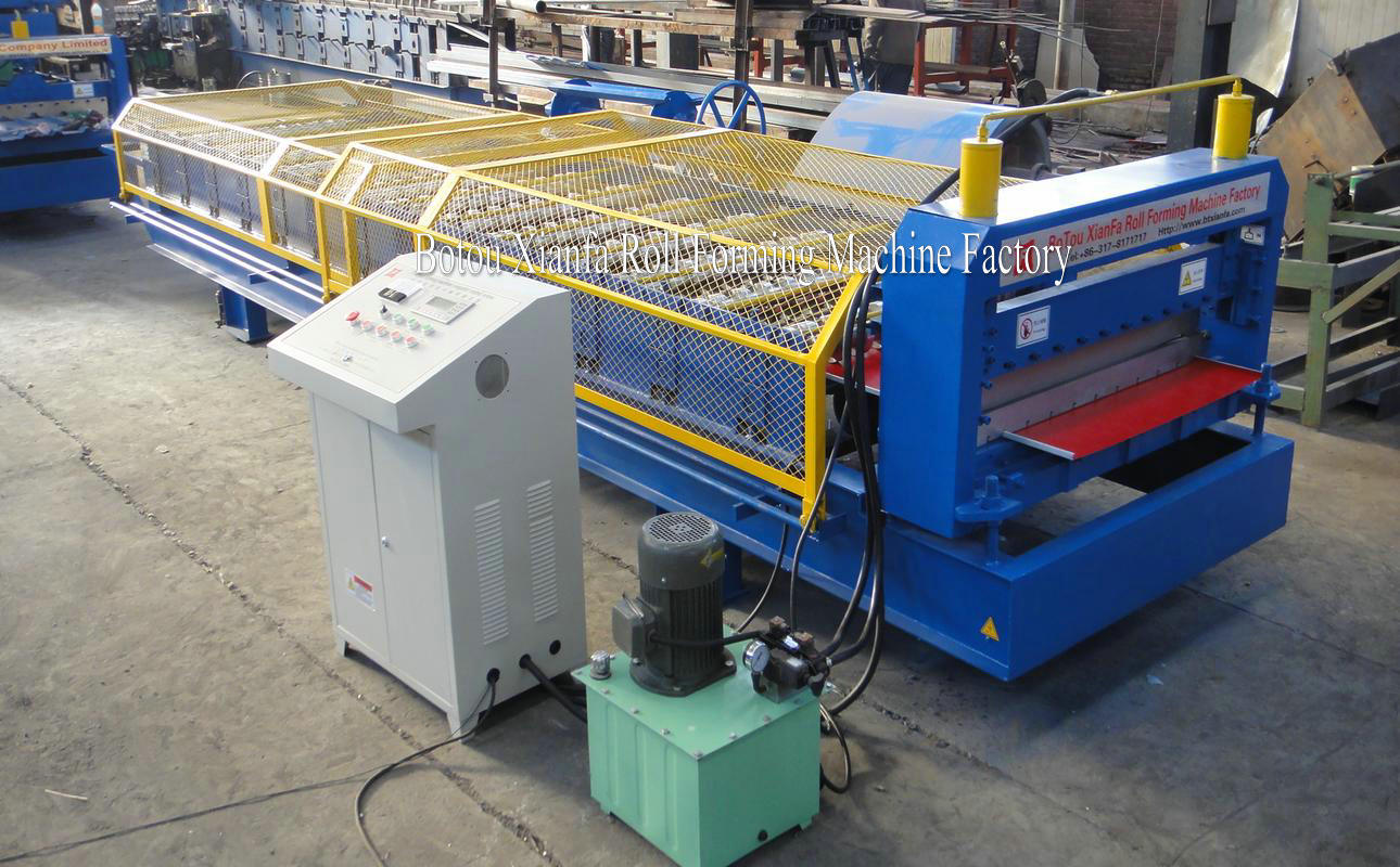Colored Steel Sheet Wall tile Machine